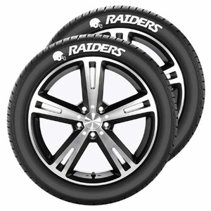 Oakland Raiders Tire Tatz - Click to enlarge