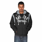 Oakland Raiders TKO Full Zip Hood