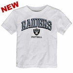 Oakland Raiders Toddler Bold Arch Tee