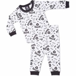 Oakland Raiders Toddler Cotton PJ Set