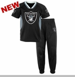 Oakland Raiders Toddler Field Goal Jersey Pant Set