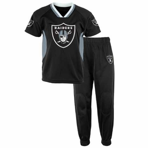Oakland Raiders Toddler Field Goal Jersey Pant Set - Click to enlarge