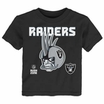 Oakland Raiders Toddler Helmet Head Tee