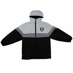 Oakland Raiders Toddler Midweight Parka