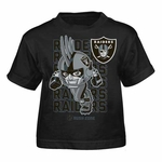 Oakland Raiders Toddler Raider Rusher Tee
