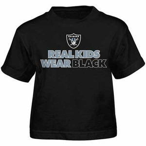 Oakland Raiders Toddler Real Kids Tee - Click to enlarge