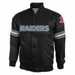 Oakland Raiders Toddler Satin Jacket