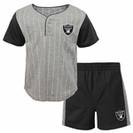 Raiders Toddler Short Set