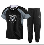 Oakland Raiders Toddler Two Piece Jersey and Pant Set
