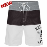 Oakland Raiders Tommy John Swim Trunk