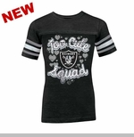 Oakland Raiders Too Cute Girls Tee