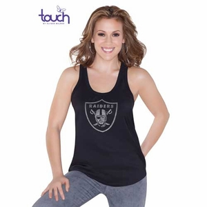 Oakland Raiders Touch by Alyssa Milano Bella Tank - Click to enlarge