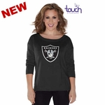 Oakland Raiders Touch by Alyssa Milano Britt Sweater