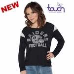 Oakland Raiders Touch by Alyssa Milano Cascade Tee