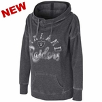Oakland Raiders Touch By Alyssa Milano Fade Route Hood