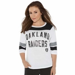Oakland Raiders Touch by Alyssa Milano Gridiron Tee