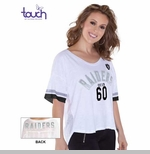 Oakland Raiders Touch by Alyssa Milano Hadley Tee
