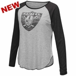 Oakland Raiders Touch By Alyssa Milano Line Drive Top