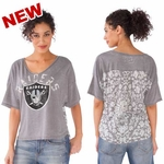 Oakland Raiders Touch by Alyssa Milano Maverick Tee