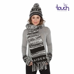 Oakland Raiders Touch by Alyssa Milano Moto Knit Collection