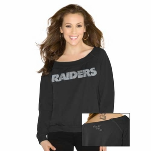 Oakland Raiders Touch Draft Choice Sweatshirt - Click to enlarge