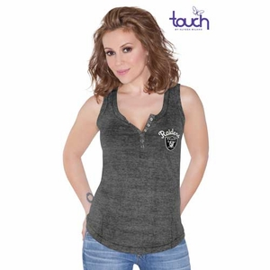 Oakland Raiders Touch Marisol Tank - Click to enlarge