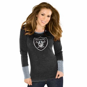 Oakland Raiders Touch Quick Pass Thermal - Click to enlarge