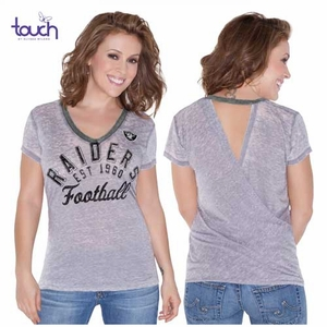 Oakland Raiders Touch Valentina Tee - Click to enlarge