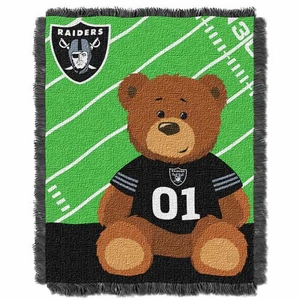 Oakland Raiders Touchdown Baby Throw - Click to enlarge