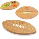Oakland Raiders Touchdown Cutting Board