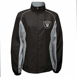 Oakland Raiders Touchdown Lightweight Jacket - Click to enlarge