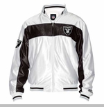 Oakland Raiders Touchdown Track Jacket