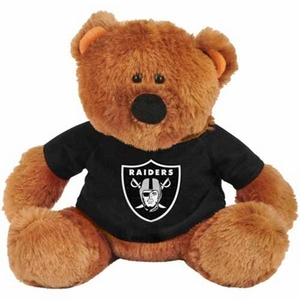 Oakland Raiders Traditional Bear - Click to enlarge