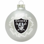 Oakland Raiders Candy Candy Traditional Ornament