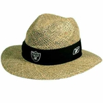 Oakland Raiders Training Camp Straw Hat