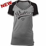Raiders Tri Blend Short Sleeve Tee