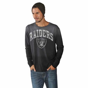 Oakland Raiders Trip Long Sleeve Tee - Click to enlarge