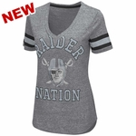 Oakland Raiders Triple Play Pirate Tee
