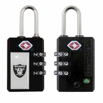 Oakland Raiders TSA Luggage Lock