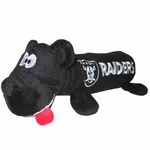 Oakland Raiders Tube Dog Toy