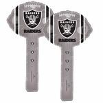 Oakland Raiders Two Pack Air Filled Hammer Balloon
