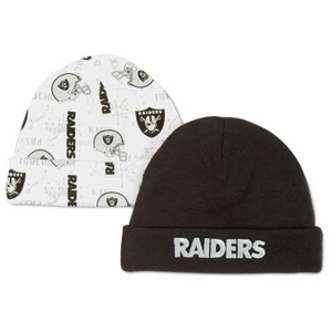 Oakland Raiders Two Pack Cap Set - Click to enlarge
