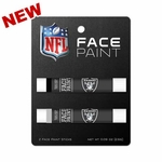 Oakland Raiders Two Pack Face Paint Set