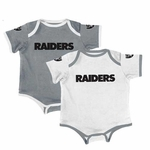Oakland Raiders Two Piece Bodysuit Set