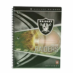 Oakland Raiders Two Pocket Portfolio - Click to enlarge