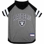 Oakland Raiders Two Tone Team Hoodie Tee