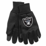 Oakland Raiders Utility Gloves with Tech