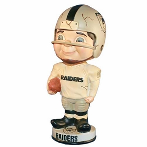 Oakland Raiders Vintage 1963 Bobblehead - Click to enlarge