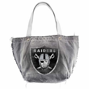 Oakland Raiders Vintage Tote - Click to enlarge