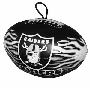 Oakland Raiders Vinyl Footballs - Click to enlarge